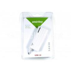 USB HUB Smartuy 4 port SBHA-6810-W, white
