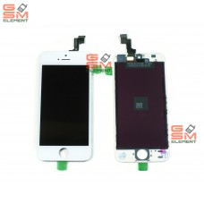 Дисплей iPhone 5S/SE белый оригинальная матрица