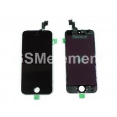 Дисплей iPhone 5S/SE чёрный оригинальная матрица
