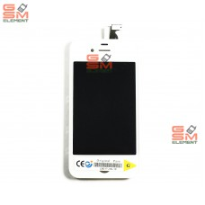 Дисплей iPhone 4 белый AAA
