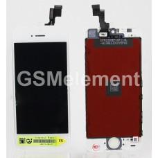 Дисплей iPhone 5S/SE белый AA