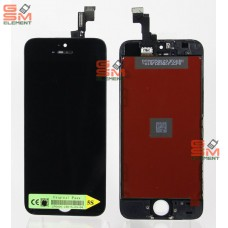 Дисплей iPhone 5S/SE чёрный AA