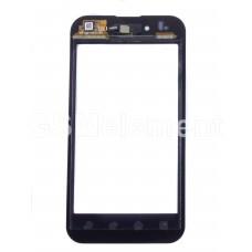 Тачскрин LG P970 Optimus чёрный, оригинал cnina