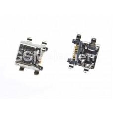 Разъем системный Samsung S7270/S7272/S7582/G350/G355H/G386F/G530/G531/J510F (micro USB), оригинал