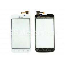 Тачскрин LG E455 Optimus L5 II Dual белый
