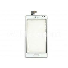 Тачскрин LG P765 Optimus L9 белый в раме