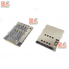 Коннектор SIM Samsung S5250/P6800/P6810/P5100 оригинал