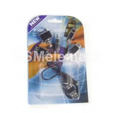 Набор универсальных переходников к телефонам для зарядки от USB