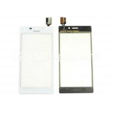 Тачскрин Sony D2302/D2303/D2305/D2306 (Xperia M2/M2 Dual) белый