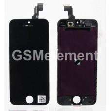 Дисплей iPhone 5C чёрный Orig