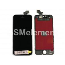 Дисплей iPhone 5 чёрный AA