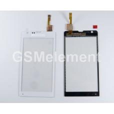 Тачскрин Sony C5302/C5303/C5306 Xperia SP белый
