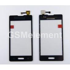 Тачскрин LG E450 Optimus L5 II чёрный, оригинал china