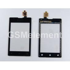 Тачскрин Sony C1504/C1505/C1604/C1605 чёрный, оригинал china