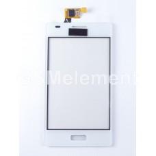 Тачскрин LG E615 Optimus L5 Dual белый