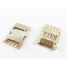 Коннектор SIM+MMC Samsung N9000/N9005/i9200/G7102/G900F/G355H/G360H/G530H/i9300I/N7505/J100/G750F