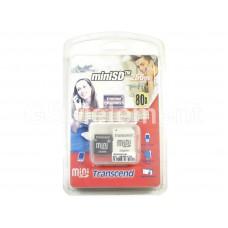 Карта памяти MiniSD 256Mb + Adapter