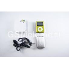 MP3 плеер LT-M089 Green (дисплей/ встроен. динамик/ FM/ microSD)
