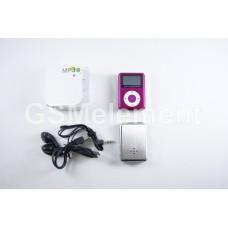 MP3 плеер LT-M089 Pink (дисплей/ встроен. динамик/ FM/ microSD)