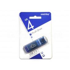 USB флеш-накопитель 4Gb SmartBuy Glossy series Blue