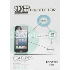 Защитная плёнка для Alcatel OT-7047D POP C9 глянцевая