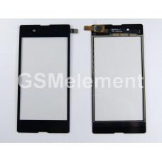 Тачскрин Sony D2203/D2212 Xperia E3/E3 Dual чёрный, оригинал china