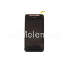 Дисплей HTC Desire 210 модуль в сборе чёрный, оригинал