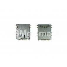 Коннектор SIM Samsung P5200/T111/T285/T311/T325/T331/T355/T531/T561/T705