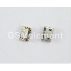 Разъем системный Nokia 710/208/207/220/220 Dual/230/Asha 500/503/Nokia X Dual (micro USB)