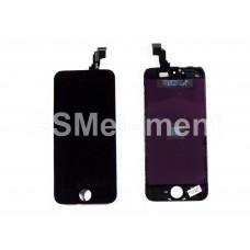 Дисплей iPhone 5C чёрный AA