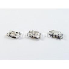Разъем системный Samsung J100F/J250F/J320F/J330F/J400/J500/J530/J610/J730/J810/G570/T355 (micro USB)