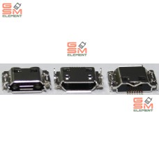 Разъем системный Samsung i8910/i9000/i9001/i9003/i9010/i9020/S5260/S5660/S7220/S7250/S7500
