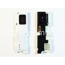 Звонок (buzzer) Samsung N7100 в сборе с антенной, белый
