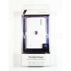 Внешний аккумулятор Pisen TS-UC025 6600 mAh (USB выход 1000 mA) белый
