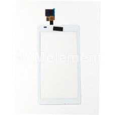Тачскрин Sony C2104/C2105/Xperia L/S36h белый