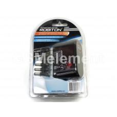 Авто адаптер универсальный для нетбуков, GPS, DVD 3000 mA, 8 коннекторов