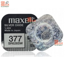 Элемент питания MAXELL SR626SW 377