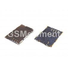 Коннектор SIM Samsung P1000/P3100/P6200/P7300