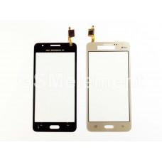 Тачскрин Samsung G531H/ G530H/DV золото AAA