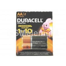 Элемент питания Duraсell AA LR06-2BL (12 на листе)