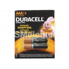 Элемент питания Duracell AAA LR03-12BL