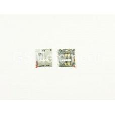 Коннектор SIM Sony C6903/D6503/D5303/C6833/D5503 (Xperia Z1/Z2/T2/Z Ultra/Z1 Compact)