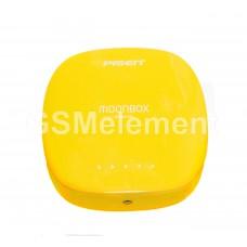 Внешний аккумулятор Pisen TS-D095 MOONBOX 6000 mAh (2 USB выхода 1A/2A, фонарь), жёлтый