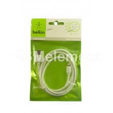 USB датакабель для Apple 8 pin Belkin (1.2 m) белый