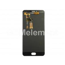 Дисплей Meizu M3 Note (M681H) в сборе с тачскрином чёрный
