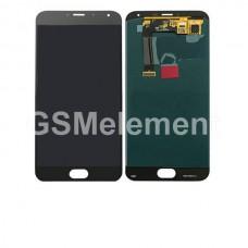 Дисплей Meizu MX5 в сборе с тачскрином чёрный