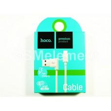 USB датакабель micro USB Hoco UPM10 L-образный дизайн (1.0 A, 1.2 m) белый