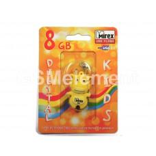 USB флеш-накопитель 8Gb Mirex Dragon, жёлтый