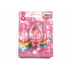 USB флеш-накопитель 8Gb Mirex Pig, розовый