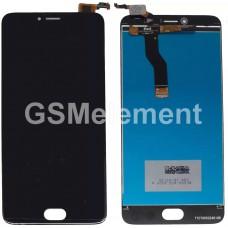 Дисплей Meizu M3 Note (L681H) в сборе с тачскрином чёрный